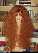 SIN CITY WIGS EXTRA LONG THICK VOLUME CURLY FLUFFY TEASED RED HOT SEXY BIG HAIR