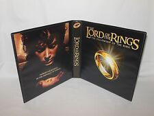 Custom Made Lord of the Rings Fellowship Trading Card Binder Graphics Only