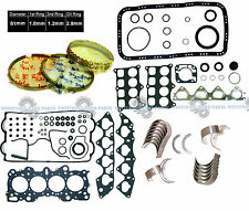 Acura Integra GSR Type-R 1.8 B18C1 B18C5 Engine Rebuild RE-RING KIT *GRAPHITE*