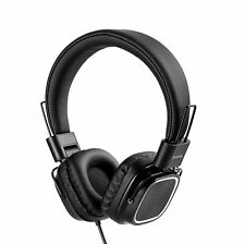 JAZZA 18db Active Noise Canceling  Headphones Headset On-ear with Mic Super Bass