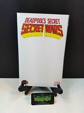 Deadpool's Secret War #1 Blank Variant NM Marvel Comics Get Yours for Next Con!