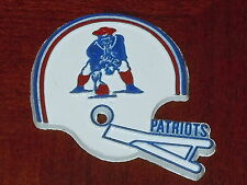 NEW ENGLAND PATRIOTS Vintage NFL RUBBER Football FRIDGE MAGNET Standings Board