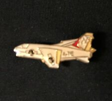 "Vintage A-7E Corsair Fighter Jet Plane Lapel Hat Pin 1"" x 3/8"" New Old Stock"