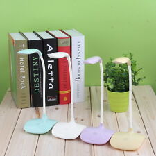 Touch Sensor Dimmable USB Rechargeable LED Desk Table Bedside Reading Lamp Light