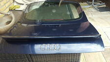 AUDI TT MK1 8N COUPE  REAR TAILGATE / BOOT LID WITH GLASS IN BLUE LZ5T