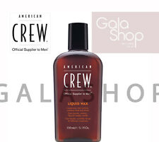 AMERICAN CREW CERA LIQUIDA LIQUID WAX MODELLANTE CAPELLI 150ML LOOK PERFETTO