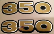 KAWASAKI S2 350 S2A 350 TRIPLE SIDE PANEL DECALS