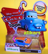 "T"" - KYANDEE - #36 Disney Cars Toons Tokyo Mater's Tall Tales Toon autos diecast"