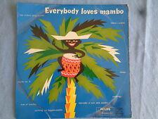 Everybody loves Mambo - Xavier Cugat - Les Elgart  -25 cm Vinyl LP 1960er Jahre