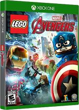 LEGO MARVEL AVENGERS XBOX ONE NEW! IRON MAN, CAPTAIN AMERICA, HULK, SPIDERMAN