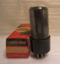 Standard Brand 6W6GT Vintage Electronic Vacuum Tube In Box NOS