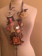 Unique One Off Handcrafted Vivienne Westwood Loaded Statement Charm Necklace 3