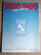 METHODE DE BATTERIE DRUMS TEMPO + CD