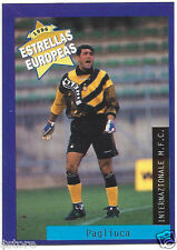 Rare '96 Panini Italy's EUROPEAN SUPER STAR Gianluca Pagliua with Internazionale