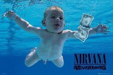 "Nivarna POSTER ""Nevermind Album Cover"" Kurt Cobain Dave Grohl BRAND NEW Licensed"