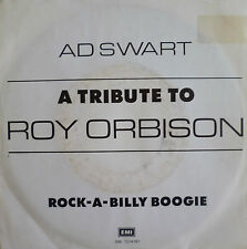 "7"" 1988 RARE! AD SWART : A Tribute To Roy Orbison /M-?"