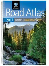 Rand McNally 2017 Large Scale Road Atlas(Rand Mcnally Large Scale (Spiral-bound)