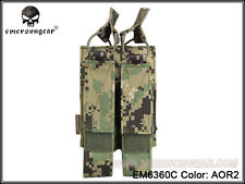 EMERSON Modular Double  MAG Pouch For MP7 (AOR2) EM6360C