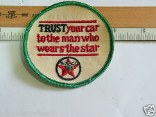 Texaco Mechanics Patch Trust Your Car To The Man Who Wears The Star (Phillips)