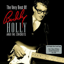 Buddy Holly And The Crickets VERY BEST OF 54 Songs ESSENTIAL New Sealed 3 CD