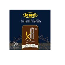 KMC X8  X8.99  SILVER 8 SPEED CHAIN SHIMANO CAMPAGNOLO