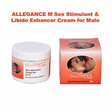 ALLEGANCE - SEX STIMULANT Cream for MEN - Use before Sexual Act - 100% NATURAL