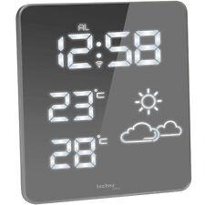 TECHNOLINE WS6825 Wetterstation Temperaturanzeige Thermometer Uhr