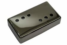 "Wide Range Humbucker Pickup Cover 3x3 ""Smoked Black Nickel"" nickel silver 54mm"