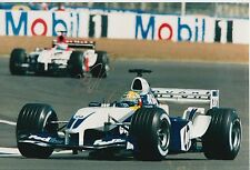 Ralf Schumacher Hand Signed BMW Williams F1 12x8 Photo.