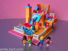Polly Pocket Mini★*Luxus Light up Hotel  mit Licht*★4 Pollys*KOMPLETT*