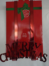 "MERRY CHRISTMAS 17"" Wreath Hanger"