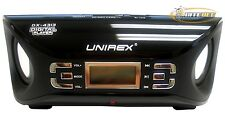 UNIREX DX-4313 Portable Speaker with Radio, USB & SD/MMC Ports - Black