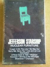 Jefferson StarShip Nuclear Furniture Cassette 1984 RCA Final Album