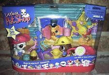 Littlest Pet Shop RACEABOUT RANCH 337 338 Horse Pony + accessories ONLY   NO CAT