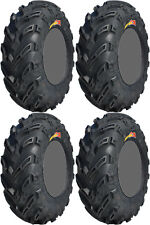 Four 4 GBC Dirt Devil ATV Tires Set 2 Front 22x8-10 & 2 Rear 25x12-10