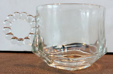 Vintage Orchard Crystal by Hazel Atlas Coffee/Tea Cup Bloopie EUC! (2 available)