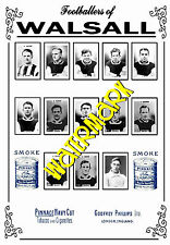 WALSALL - 1920's PINNACE CARDS TEAM POSTER