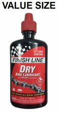 Finish Line Dry Bike Lube Teflon Chain Bottle Larger Size 4 oz Ounce