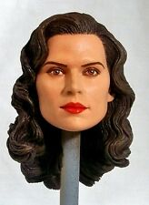 1:6 Custom Head  Hayley Atwell as Peggy Carter in Captain America & Agent Carter