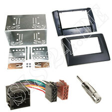 Autoradio 2-DIN Einbaurahmen Radioblende+Adapterkabel Einbauset für Fiat Stilo