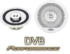 "Clarion CM-1625 6.5"" White 2 Way Marine Coaxial Speakers Boat Yatch HotTub"