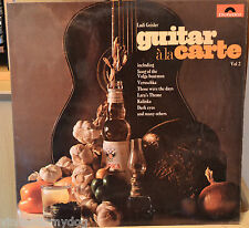 Ladi Geisler - Guitar A La Carte volume 2 (1969 Polydor Records LP)