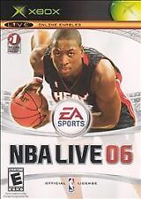 NBA Live 06 - Xbox Electronic Arts Video Game