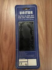 UNITOR FILTER GLASS SET FOR ARC WELDING ***NEW***