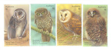 Australia-Owls Gummed set mnh 2016-birds of Prey