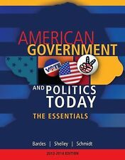 American Government and Politics Today The Essentials by Bardes Shelley 17th Ed