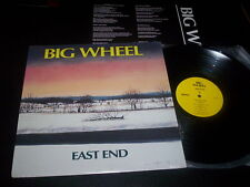 """Big Wheel """"East End"""" LP with insert Giant Records – GRI-6034-1 Usa 1989"""
