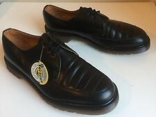 Bnwt! Sz8 Vtg England Dr. Martens Air Cushioned Black Leather Chelsea Shoes Eu42