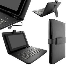 Magnetic Leather Case Stand Universal Cover with USB Keyboard for Tablet on Sale