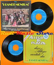 LP 45 7''I PANDEMONIUM SARUZZO Qui lo dico nego Allegro italy 1978 RCA cd mc dvd